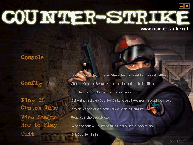 Counter-Strike 1.0